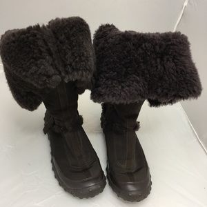 women's suede calf or ankle length lined boots 8